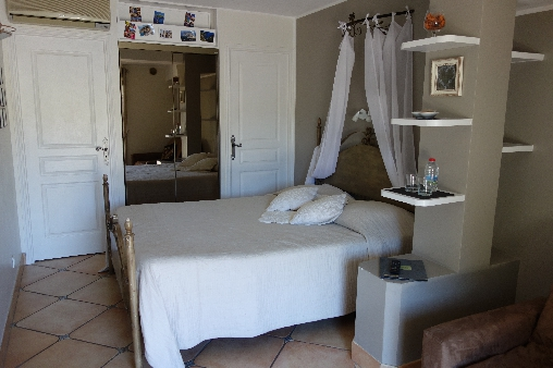 bed & breakfast Alpes Maritimes - Bedroom the Noisetier