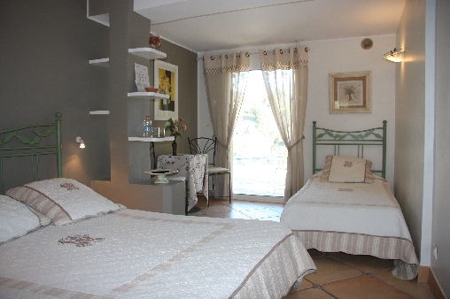 bed & breakfast Alpes Maritimes - Bedroom the Olivier