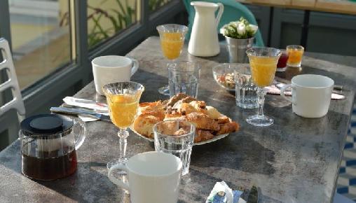 bed & breakfast Alpes Maritimes - breakfast