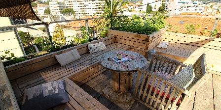 Villa du Roc Fleuri Le toit terrasse