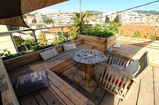 Chambre d'hote Alpes Maritimes - Le toit terrasse