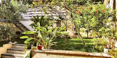 Villa du Roc Fleuri Le jardin