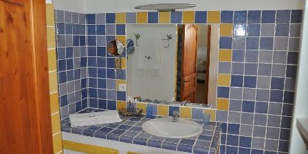Gîte des Olives 4 étoiles en Provence Salle de bain