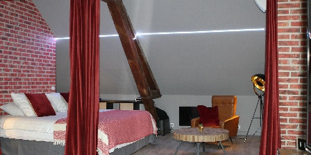 Une Maison en Ville Chambre Loft Robert de Luzarches