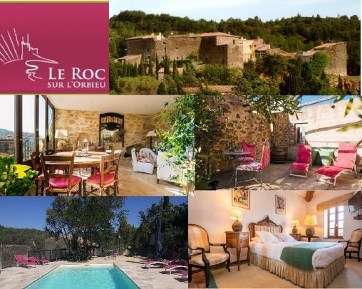 le roc sur l'orbieu maison le four à pain entre Carcassonne et N