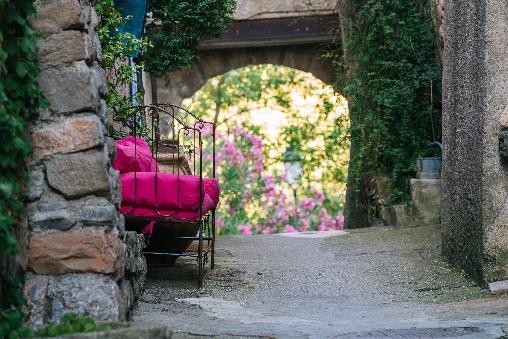 jardins roc sur l'orbieu maison le four à pain Carcassonne