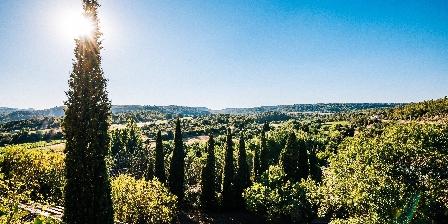 Le Roc sur l'Orbieu Gîte pour 5 pers Le Chemin de Ronde Garden and view