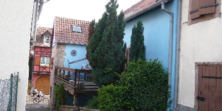 Gîte Fischer Terrasse côté ruelle