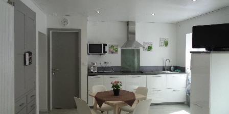 Gîte Fischer Studio - Côté cuisine
