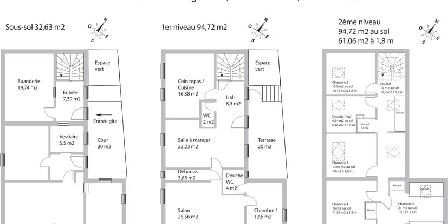 Gîte Fischer Plan du grand gîte