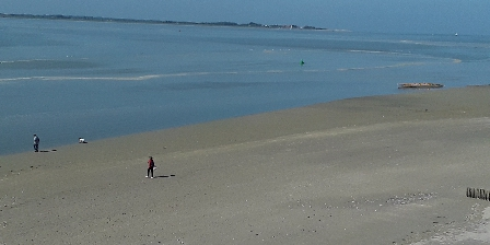 La Caravelle en Baie de Somme La baie par beau temps