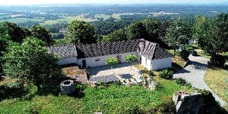 La Maison du Fort de Fontain Le Marulaz La Maison du Fort vue du ciel
