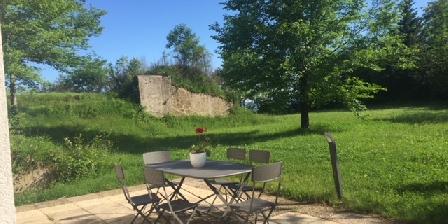 La Maison du Fort de Fontain  Le Séré de Rivières Terrasse coté jardin