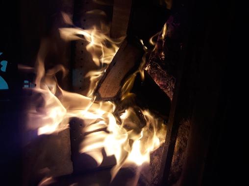 Flambée au chalet