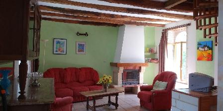 Les Vieux Chênes - Gîte Tournesol Le salon
