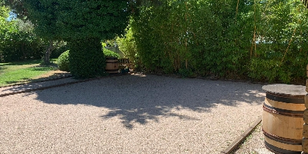 Bastide Sainte Agnès Terrain de pétanque