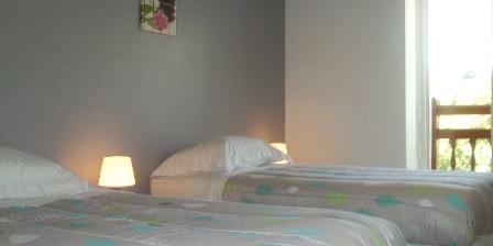 Maison Peontenia Chambre avec 2 lits 90