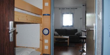 Appartement 126 Rez de Jardin Chambre