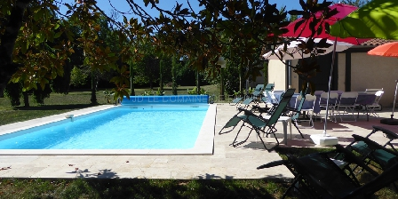 Domaine de Nauze-Fauvel - La Source Le Manoir, la piscine