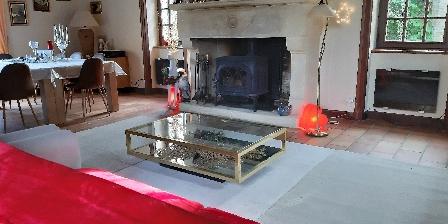 Domaine de Nauze-Fauvel - La Source La cheminée
