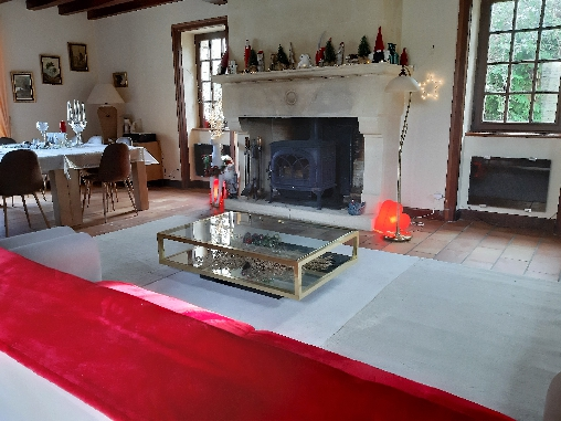 bed & breakfast Dordogne - La cheminée