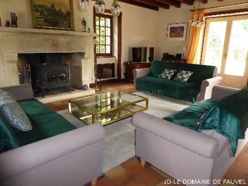 bed & breakfast Dordogne - The lounge