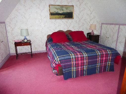 Une chambre à l'étage