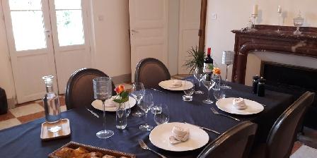 Au Coeur des Eléments Refines dinner at the table d'hotes