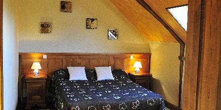 Chambres d'Hôtes au Vieux Moulin La chambre orange