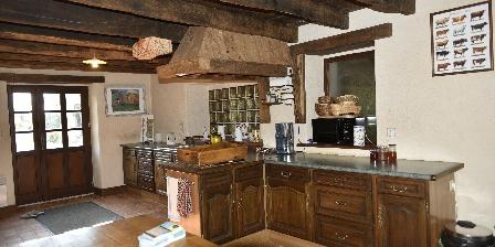 Chambres d'Hôtes au Vieux Moulin La cuisine partagée