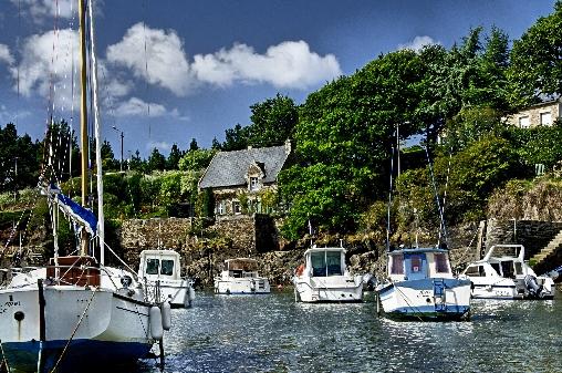 le petit port de Doelan