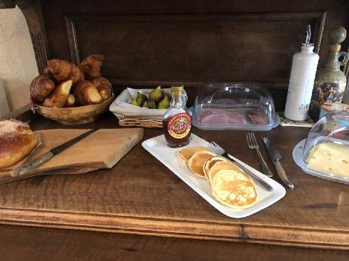 Chambre d'hote Aveyron - le petit dejeuner