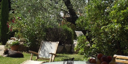 Location Saisonnière Les Mazets d'Aiguèze Terrasse privative