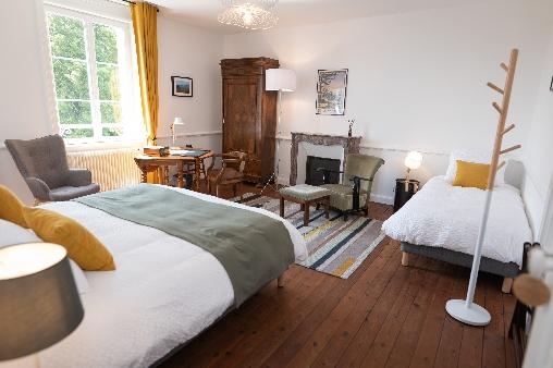 bed & breakfast Côtes-d'Armor - Quercus room