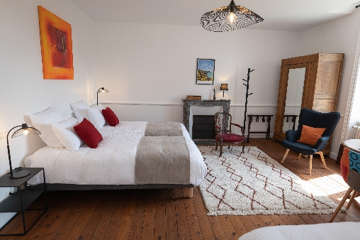 bed & breakfast Côtes-d'Armor - Carpinus room