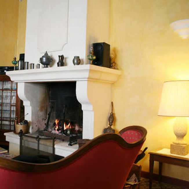 Chambre d'hote Vaucluse - Le salon