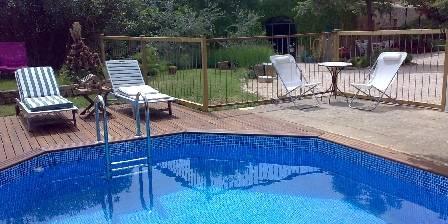 Le Mas de Castille La piscine