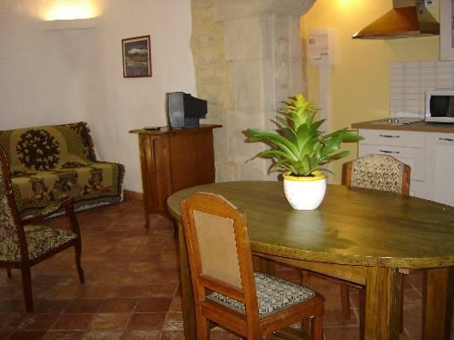 Chambre d'hote Vaucluse - Suite IRIS ou Gîte l'Amandier  coin salon, cuisine