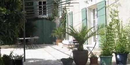 Jardin de Bacchus Detail du sofa exterieur