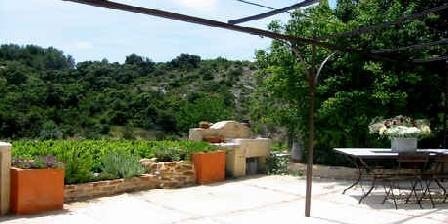 Jardin de Bacchus La terrasse