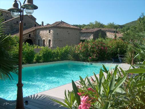 Bed & breakfasts Ardèche, from 95 €/Nuit. House of character, Les Vans (07140 Ardèche), Charm, Guest Table, Swimming Pool, Garden, Park, Net, WiFi, T.V., Baby Kits, Air-Conditioning, 0 Single Bed(s), 5 Double Bedroom(s), ...