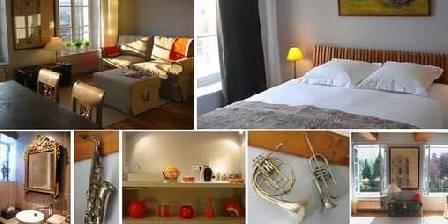 Villa Catalpa Suite 1 :Le salon de musique