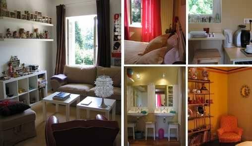 Chambre d'hote Rhône - Suite 2 : Le salon des jouets