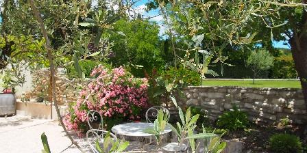 Le Jardin des Amandières Terrasse