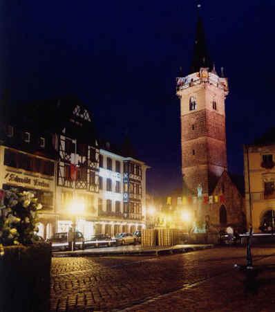 Chambre d'hote Bas-Rhin - ville d'obernai.la place