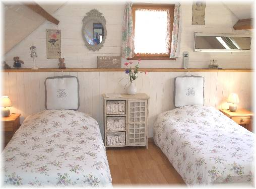Chambre d'hote Somme - Chambre lits jumeaux Orca
