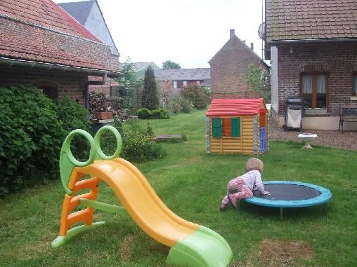 Chambre d'hote Somme - jeux enfants