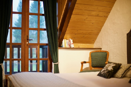 bed & breakfast Savoie - edelweiss bedroom