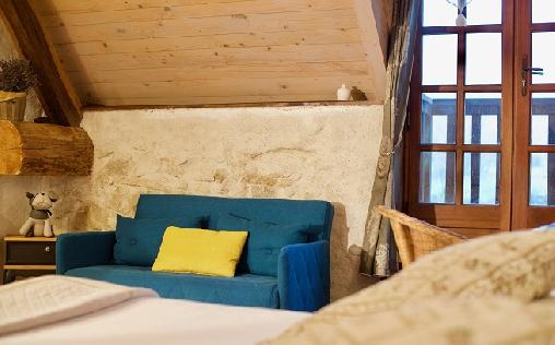 Chambre d'hote Savoie - suite duplex lavande
