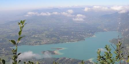 La Bageatière Le lac d'Aiguebelette
